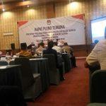 Penepatan perolehan kursi partai politik dan calon terpilih anggota DPRD Kabupaten Rembang di Hotel Fave, Rabu (03/07) akhirnya ditunda.