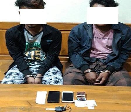 Dua Pria Diamankan Karena Kasus Sabu-Sabu, Struk Transfer Jadi Bukti
