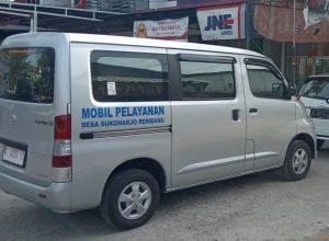 Mobil pelayanan Desa Sukoharjo, Rembang.