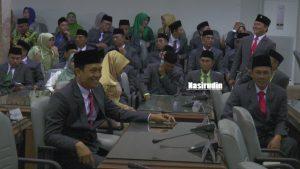 Nasirudin, di antara anggota DPRD Rembang lainnya.