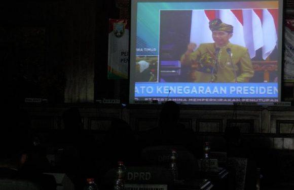 Pidato Kenegaraan : Pernyataan Jokowi Ini, Justru Disambut Teriakan Huuuu…