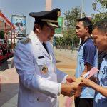 Bupati Rembang, Abdul Hafidz menyerahkan keputusan remisi kepada Napi Rutan Rembang.