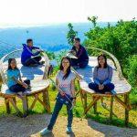 Salah satu obyek wisata di atas Pegunungan Lasem. (instagram natalydinda02).