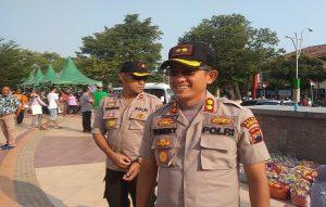 Kapolres Rembang, AKBP Pungky Bhuana Santosa bersama Wakapolres, Kompol Sumaryono.