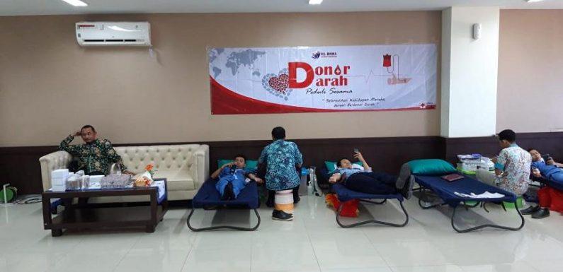 Donor Darah, Ditetapkan Agenda Rutin RS Bhina Bhakti Husada