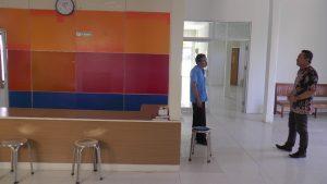 Kamar jenazah yang baru di Rumah Sakit dr. R. Soetrasno Rembang.