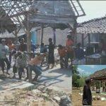 Pindah rumah, karena beda pilihan calon kepala desa. Peristiwa ini terjadi di salah satu desa di Kec. Kragan.
