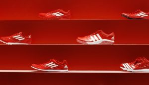 Sepatu merek Adidas (bisnistempo).