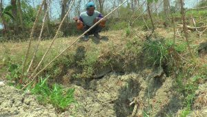 Sumur gowak di Desa Sulang, menjadi saksi bisu pemberontakan PKI kala itu.