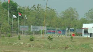 Sumur gas di Desa Krikilan, Kecamatan Sumber.