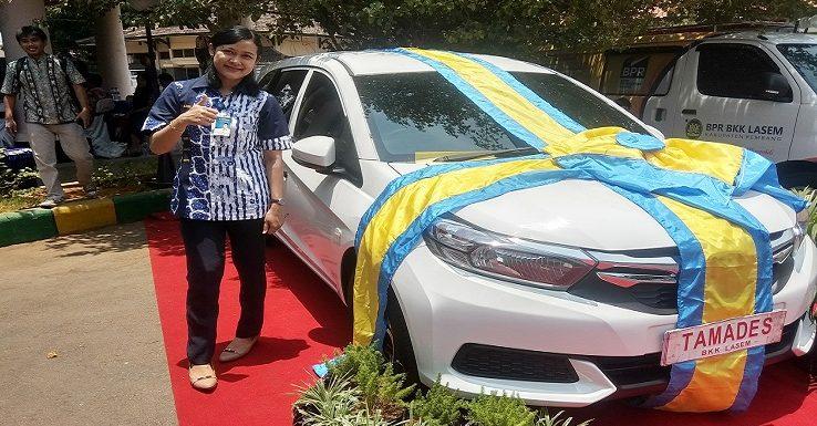 Hadiah Utama Mobilio, Yukk Diintip Siapa Saja Pemenang Undian Tamades PD. BPR BKK Lasem