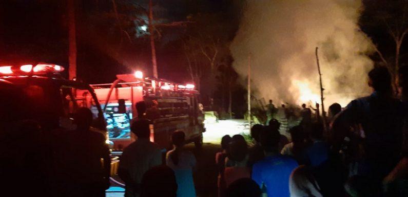 Gudang Rosok Tuyuhan Terbakar, Ini Dugaan Pemicunya