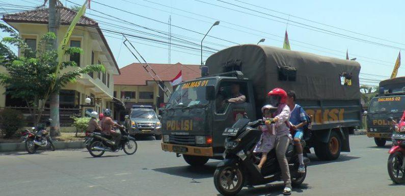 Pilkades : Pasukan Dari Luar Daerah, Mulai Tinggalkan Rembang