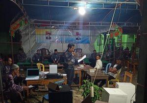 Penghitungan suara Pilkades di Desa Tegalmulyo, Kec. Kragan harus diulang sampai 3 kali.