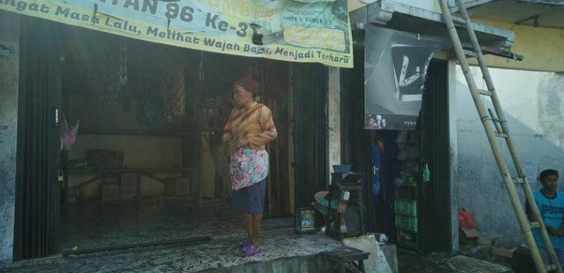 Kebakaran Ruko Pasar, Bikin Panik Pedagang