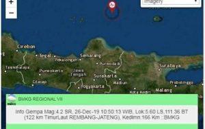 Info gempa bumi dari BMKG.