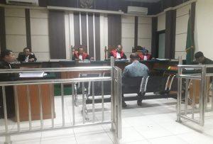 Mantan Kades Sumber divonis majelis hakim Pengadilan Tipikor Semarang, Rabu (18/12).