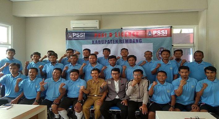 Tak Lagi Arungi Kompetisi, Sejumlah Mantan Pemain PSIR Ikut Kursus Pelatih