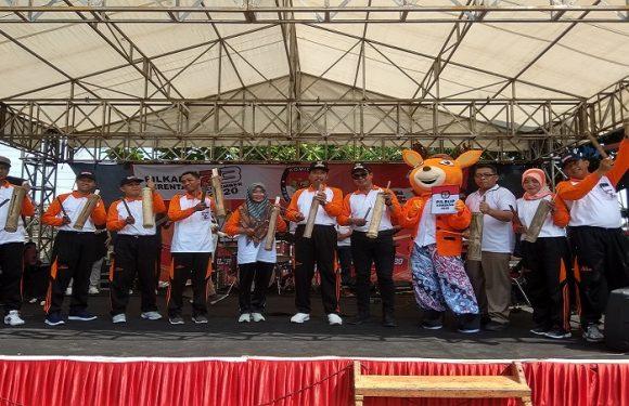 Maskot & Jingle Dilaunching, Ini Angka Target Partisipasi Pemilih Pilkada Rembang