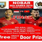 PWI Kab. Rembang bersama Bupati Rembang, Abdul Hafidz akan menggelar nonton bareng final sepak bola Sea Games, Selasa malam (10/12).