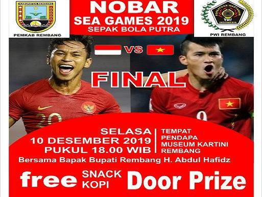 Banyak Door Prize Menanti, Yukkk Ramaikan Nobar Indonesia vs Vietnam