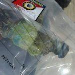 Barang bukti botol berisi bensin diamankan pihak Polres Rembang. Bensin tersebut diduga untuk membakar korban.