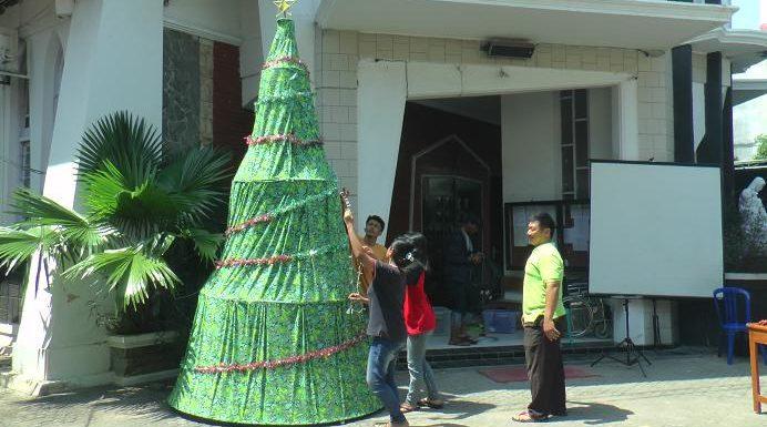 Umat Katholik Sambut Natal, Kental Dengan Cinta Keberagaman Budaya Indonesia