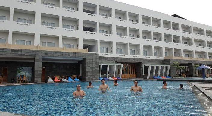 Pollos Hotel Belum Buka Kolam Renang Untuk Umum, Ini Alasannya