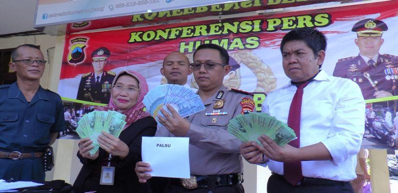 Uang Palsu Untuk Taruhan Pilkades Terbongkar, Jelang Pilkada Diminta Lebih Waspada