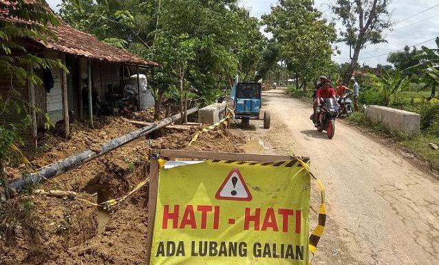 Pipa Gas Dekat Permukiman, Pihak Desa Tanyakan Kemungkinan Dampak Buruk