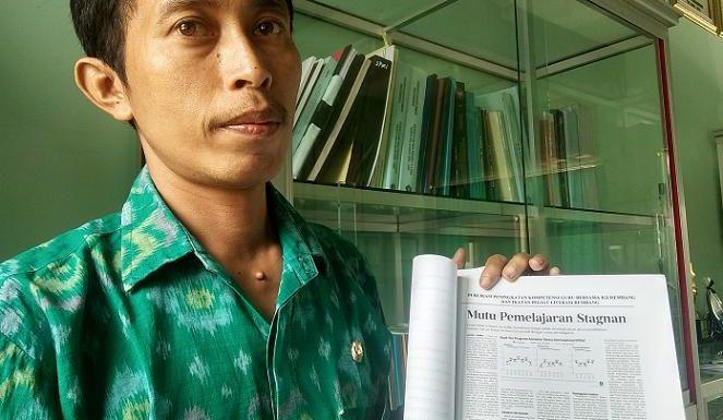 Imron Wijaya, Gulirkan Kampanye Matematika Menyenangkan