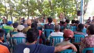 Bupati Rembang bersama Forkopimda menggelar sosialisasi di Desa Krikilan Kec. Sumber, Kamis siang (02/01).