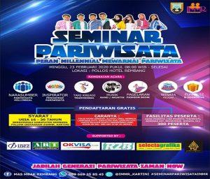 Seminar Pariwisata yang digelar oleh IMMR.