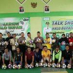 Program 1000 Bola untuk Kabupaten Rembang, menyasar di Kecamatan Pamotan, Jum'at (07/02).