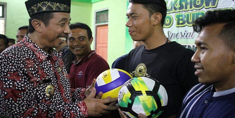 Mantap, Gerakan 1000 Bola Disiapkan Program Penyambungnya