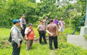 Pengecekan usaha sumur bor yang dikomersilkan di Desa Sumbersari, Kecamatan Kragan.