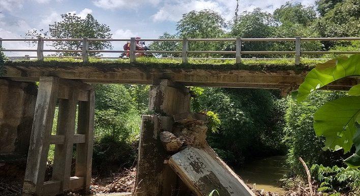 Jembatan Ngemplakrejo Dipasangi Tanda Peringatan, DPU Rancang Penanganan