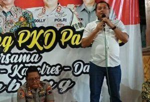 Kepala Kejaksaan Negeri Rembang, Riyadi Bayu Kristiyanto (baju putih).