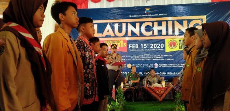 Millenial Kekuatan Besar Rembang, Leprid Beri Penghargaan Atas Terbentuknya MPR