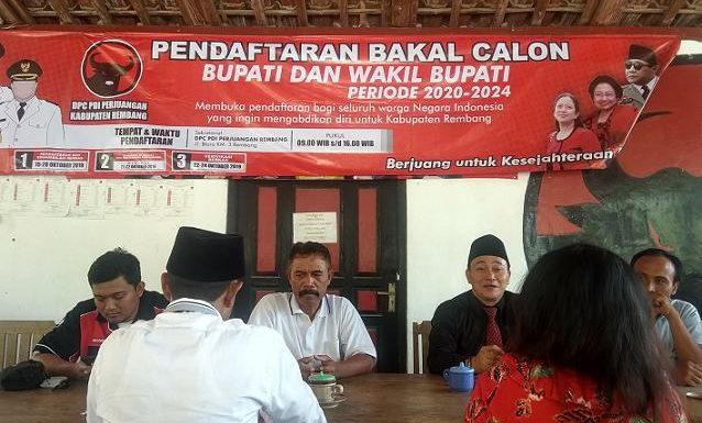 Rekomendasi Bakal Calon Untuk Rembang Belum Turun, Ketua DPC PDI P Ungkap Penyebabnya