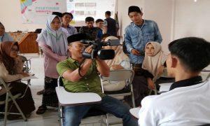 Suasana pelatihan jurnalistik di STAI Al Kamal Sarang, Sabtu (01/02).