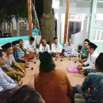 Pengurus PWI Kabupaten Rembang, silaturahmi ke kediaman Gus Baha', Senin malam (10/02).