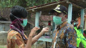 Wakil Bupati Rembang, Bayu Andriyanto saat diwawancara wartawan, Selasa (31/03).