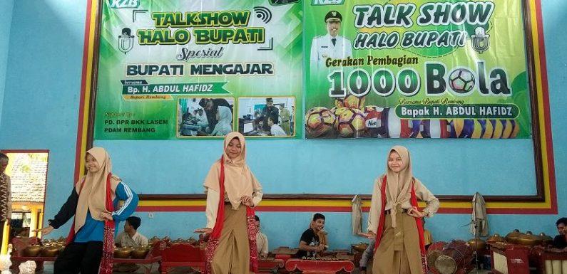 Sambut Bupati Mengajar, SMA N I Kragan Siap Tonjolkan Ciri Khas