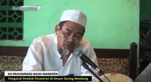 KH. Muhammad Najih Maimoen. (screenshoot FB).