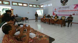 Bawaslu Kabupaten Rembang mengadakan rapat koordinasi, seputar kerawanan pemilihan Bupati dan Wakil Bupati, Selasa (17/03).