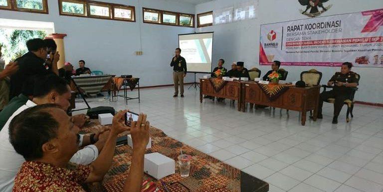 Kerawanan Pilkada Serentak Di Jawa Tengah, Kab. Rembang Menduduki Peringkat Ini