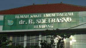Rumah Sakit dr. R. Soetrasno Rembang menjadi rujukan awal di Kabupaten Rembang, apabila ada pasien terjangkit virus Corona.