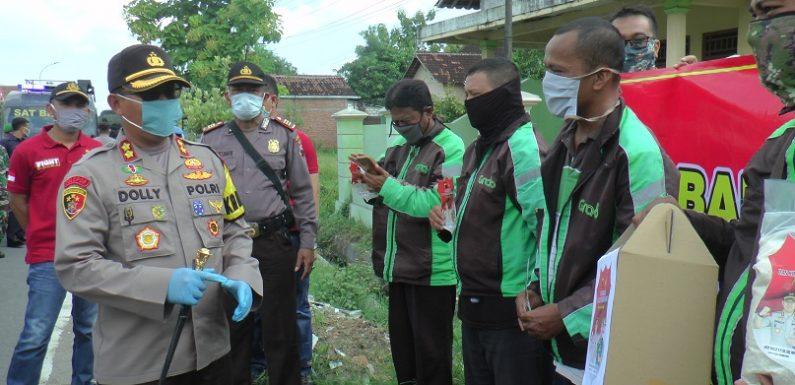 Baksos TNI/Polri Untuk Negeri, Sentuh Ojek Online Hingga Zona Merah