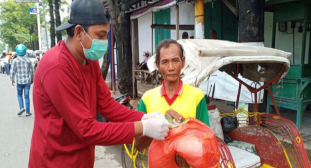 Peduli Dampak Corona, Pegiat Medsos IRB Gelar Aksi